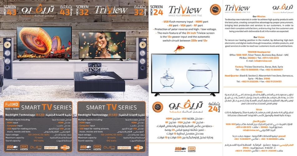 TRIVIEW FLYER
