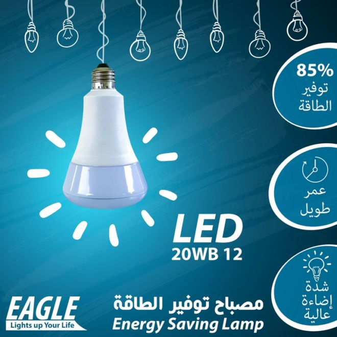 02 EAGLE LAMP 20WB12
