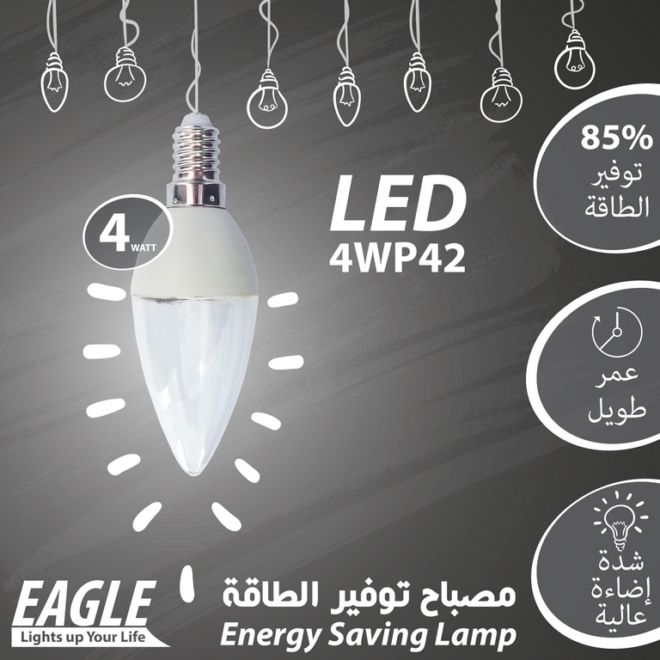 10 EAGLE LAMP 4WP42